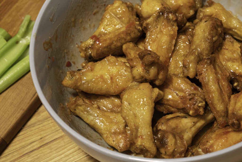 food pics - chicken wings
